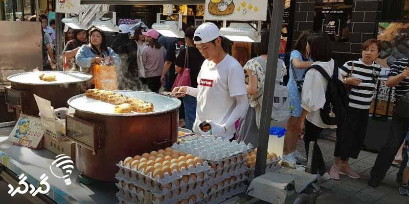 غذا در سئول